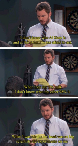 funny quotes hilarious comedy parks and recreation andy dwyer