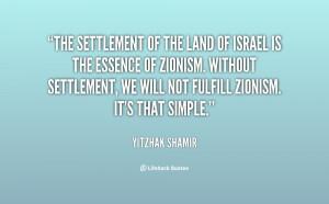 Yitzhak Shamir Quotes