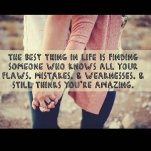 The Best Thing In Life Is Finding