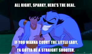 Alright Sparky, Here's the deal, If you want to court the little ...
