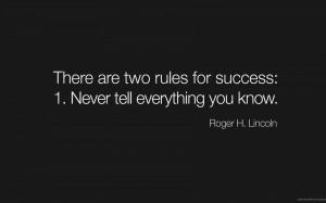 Lincoln, Wisdom, Success, Famous Quote