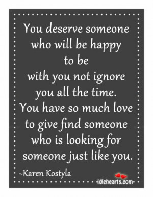 Quotes About Ignoring Someone