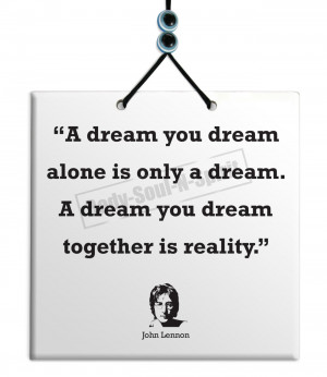 John Lennon Quotes When I Was 5 John lennon - a dream you