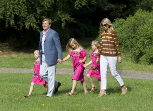 Princess Alexia Prince Willem Alexander The Netherlands