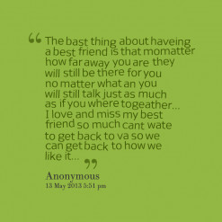 you friendship quotes 13547 the bast thing about haveing a best friend ...
