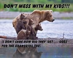 DON'T MESS WITH MY KIDS!!!