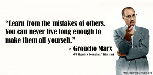 Groucho Marx Quotes HD Wallpaper 2