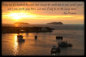 Inspirational Travel Quote of the Week: Ryu Murakami