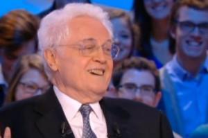 Lionel Jospin hilare après sa bourde (image Canal Plus, copie d ...