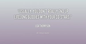 Lea Thompson Quotes