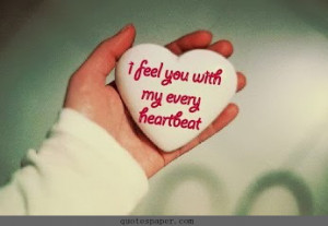 Love Heart Beat Quotes life quotes 115