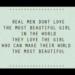 real me dont love the most beautiful girl