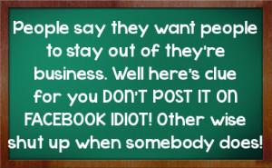 Sarcastic Quotes About Idiots http://fstatuses.com/sarcastic-facebook ...