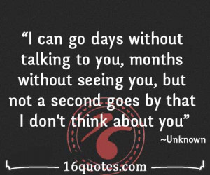 Thinking Of You Quotes Images Think about you quote