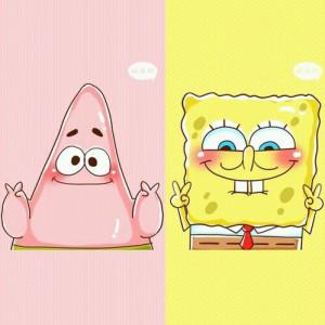 Patrick and Sponge Bob - https://weheartit.com/entry/135038418
