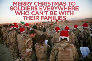Merry Christmas To The Soldiers