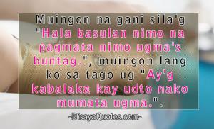Bisaya Quotes | Funny, Inspiring And Heart Warming Bisaya Love Quotes