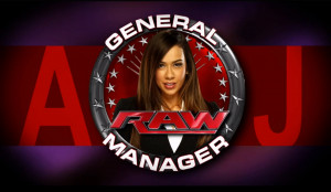 AJ Lee WWE Raw GM HD Wallpaper #3547