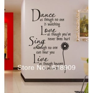 hot selling PVC Removable Art Home Wall Sticker/Room Wall Decor
