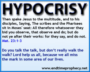 matthew 23 1 3 Be Doers of the Word / Hypocrisy Graphic 04