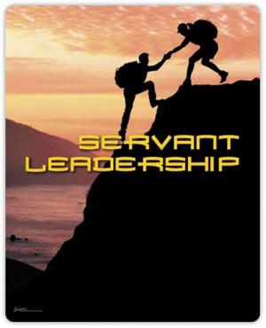 "... of practicing servant leadership"" quotes Karakas (2007) as saying"