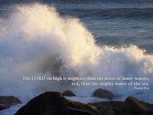 The Mighty Waves Of The Sea