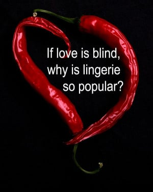 Love Is Blind Valentine Quote