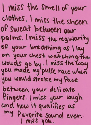 Miss You Quotes For Boyfriend