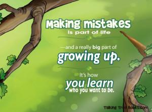 Making Mistakes Isn Enough