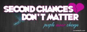 Second Chances Facebook Cover