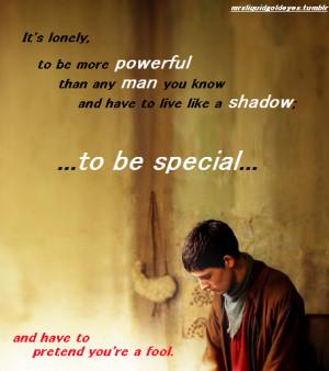 The Adventures Of Merlin Merlin Quote