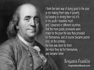 Famous Quotes by Benjamin Franklin