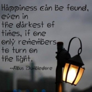 Dumbledore is a wise man