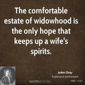 John Gay Marriage Quotes
