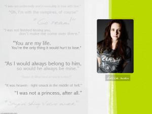 Twilight Series Bella Quotes