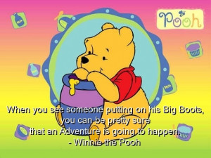 Nice Winnie The Pooh Quotes...