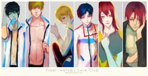 Free Iwatobi Swim Club REI GIF
