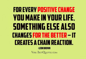 quotes about making changes in life