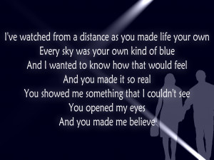 Crazier - Taylor Swift Song Lyric Quote in Text Image