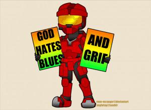 Sarge RvB http://rose-mcsugar.deviantart.com/art/RvB-Sarge-Protests ...