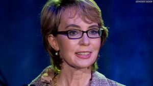 her, Gabrielle Giffords is starting a campaign against gun violence