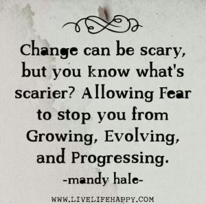 Change & fear