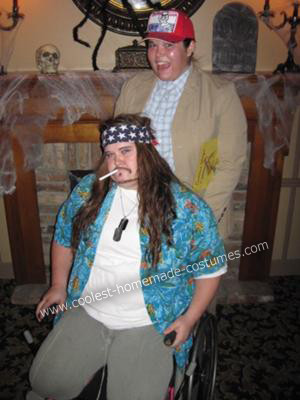 Coolest Homemade Lt. Dan and Forrest Gump Costume