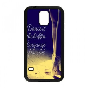 Free shipping Creative Design Dance quote Background cell phones HARD ...