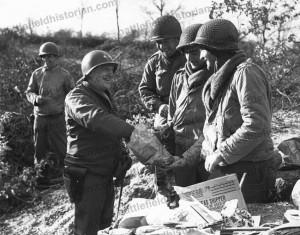 BHC 002163 Major General Norman Cota