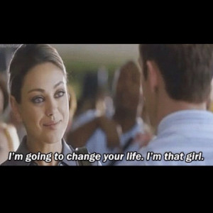cute moment in an otherwise so-so movie - Friends with Benefits