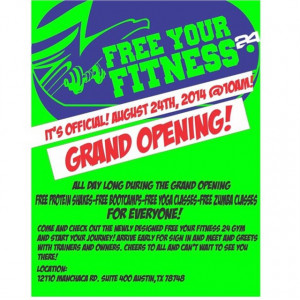 Finally opening my gym! Come check out our grand opening this Sunday ...
