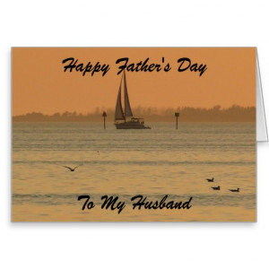 Happy Father's Day, To My Husband Greeting Cards