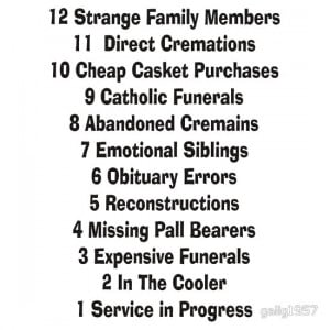 gailg1957 › Portfolio › Funny Funeral Director Mortician Quotes
