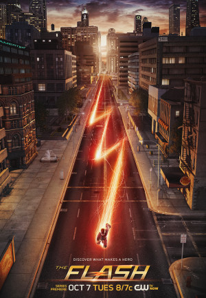 The Flash poster features Easter eggs and new trailer